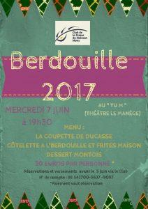 Infos Berdouille 2017